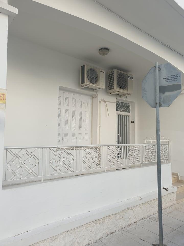 Ενοικιάζεται ισόγειο διαμέρισμα τεσσάρι 96τμ στο κέντρο του Μεσολογγίου